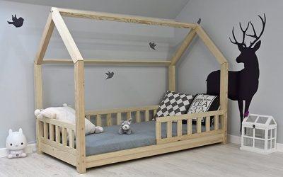 Quel lit Montessori choisir : lit cabane avec barrière ?