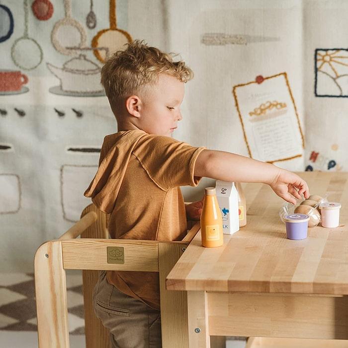 tour Montessori autonomie